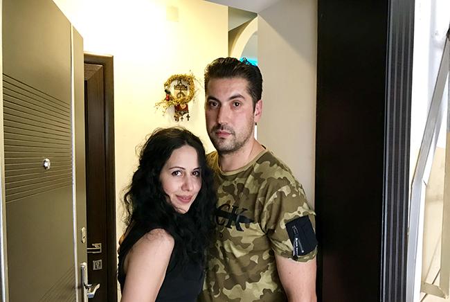 Նարեկ Հայկազյան, Ծովինար Մարտիրոսյան