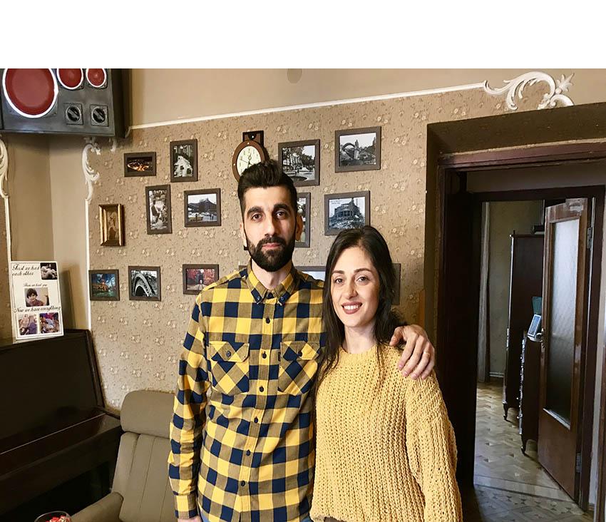 Արթուր Գեղամյան, Նազիկ Բաղդասարյան