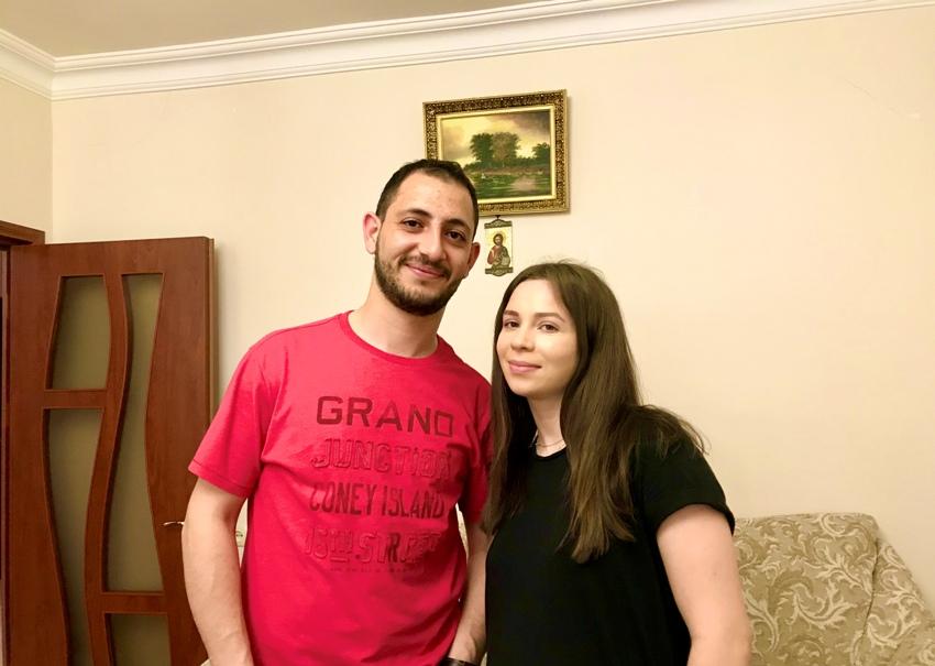 Քրիստինա Կարապետյան, Կարո Նաղդալյան